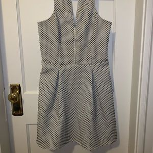 Express size 4 dress, black and white